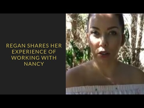 Regan shares her experience of working with Nancy