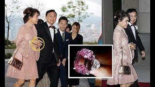 แหวนเพชรสีชมพูที่ทูลกระหม่อมฯสวมไปร่วมงานแต่งงานบุตรสาวอดีตนายก เปิดตำนานอัญมณี/สิ่งของก้องโลกNo34