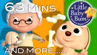 Little Baby Bum | Old Mother Hubbard | Nursery Rhymes for Babies | Songs for Kids