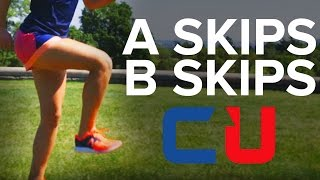 A and B Skips Instruction   CoachUp Cross Country Training