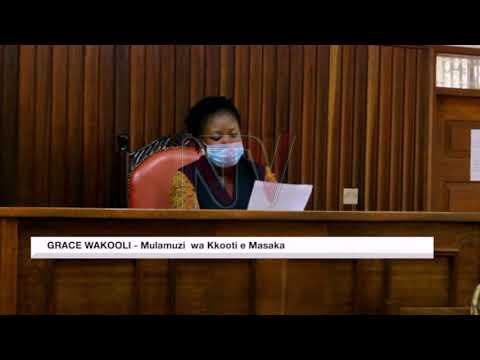 Omwana eyasalwako omutwe aziikiddwa mu miranga