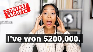 VIDEO CONTEST WINNING SECRETS: How I've Won Over $200,000 In Contests