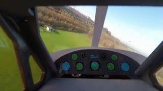 FPV RC E-Flite DHC-2 Beaver Cockpit view uncut