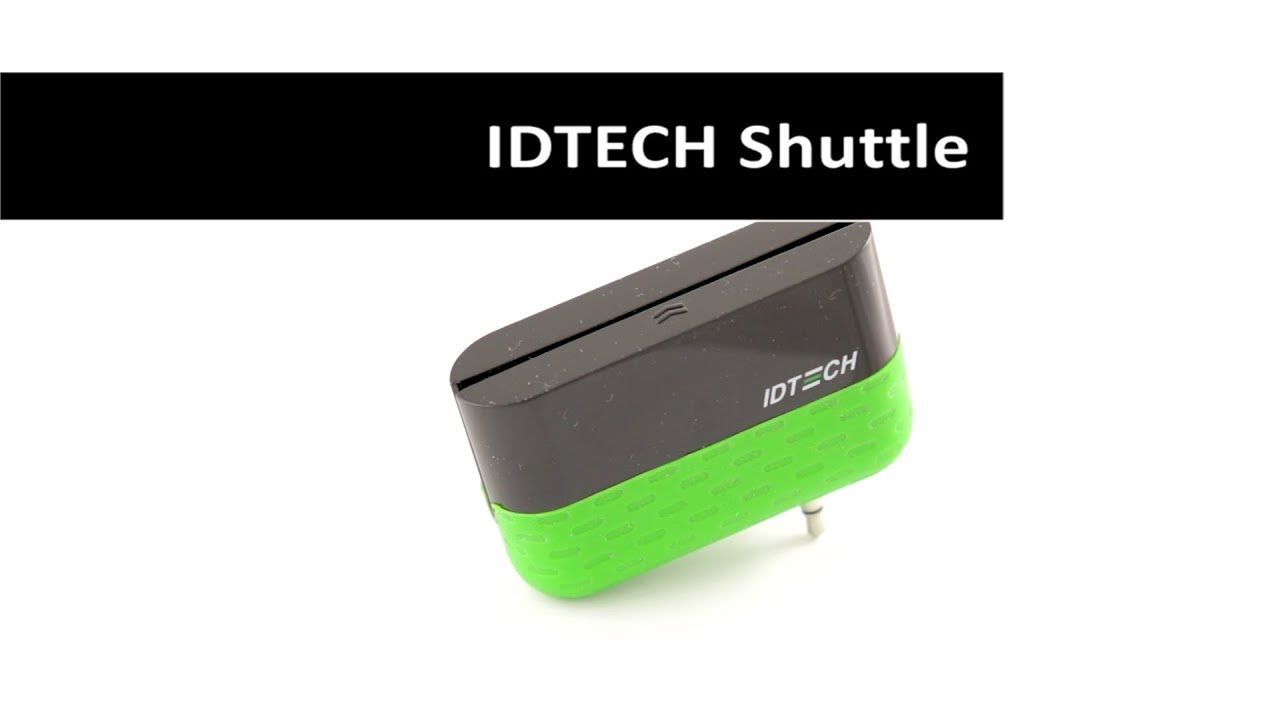 ID TECH Shuttle Two-Track Mobile MagStripe Reader Preview
