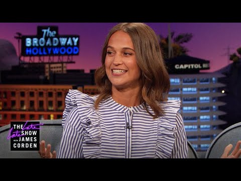10-Year-Old Alicia Vikander Loved Bruce Willis