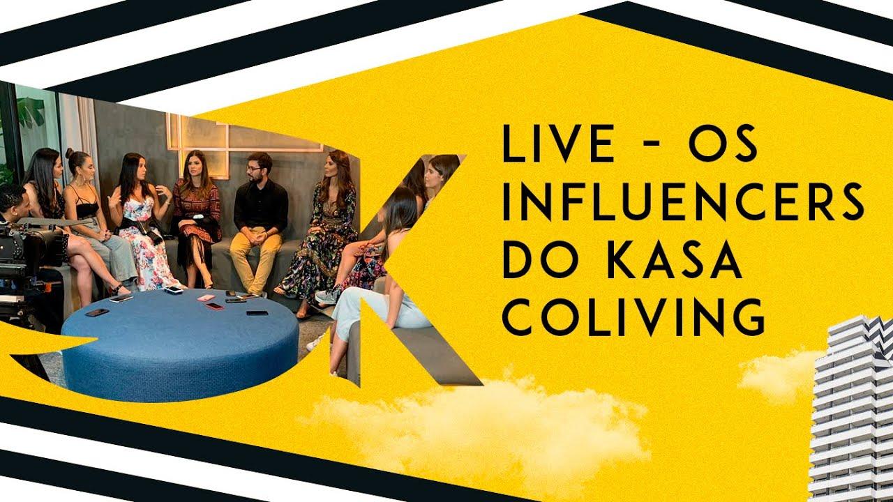 LIVE Kasa – Influencers contam como é morar num Coliving em São Paulo
