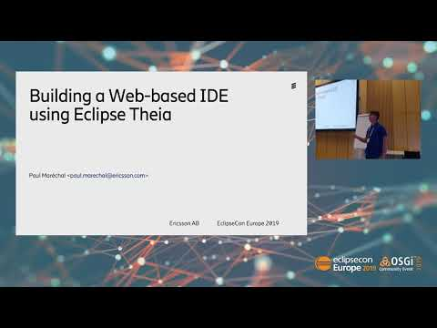 Building a web-based IDE with Eclipse Theia