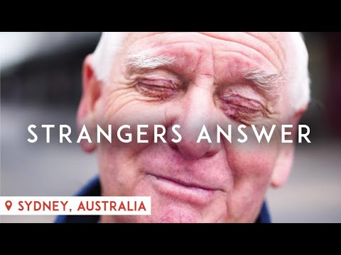 What's the most painful thing you've been told? (Australia) (видео)