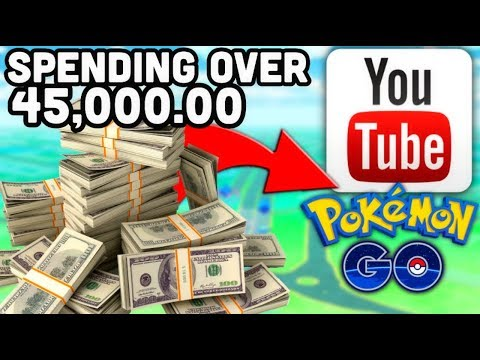 SPENT OVER $45,000.00 ON MY YOUTUBE BUSINESS & POKEMON GO