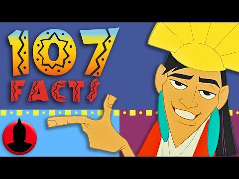 107 Emperor's New Groove Facts YOU Should Know! Cartoon Facts! (107 Facts S7 E10)