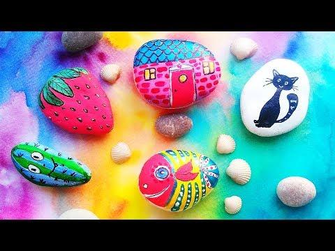 Creative Painting Rocks Ideas - DIY Stone Art Crafts For Room Decor ...