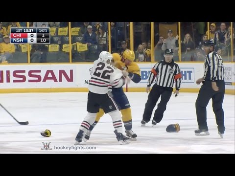 Cody McLeod vs. Jordin Tootoo