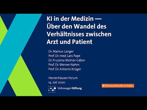 , title : 'Künstliche Intelligenz in der Medizin - Über den Wandel des Verhältnisses zwischen Arzt und Patient'