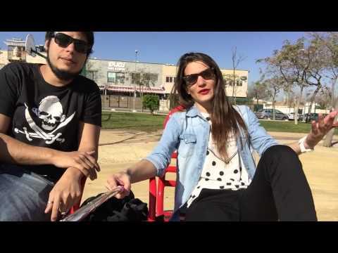 Saludo de David Sainz y Teresa Segura