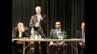 Spotkanie przedwyborcze w Dukli - Jan Dembiczak (1)
