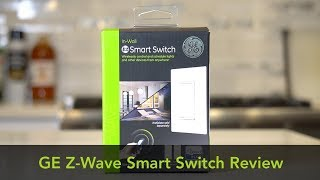 GE Z-WAVE SMART SWITCH REVIEW