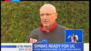 Kenya fifteens head coach Ian Snook makes four changes to the team