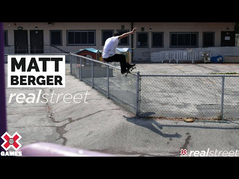 Image for video Matt Berger: REAL STREET 2021 | World of X Games