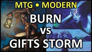 [2018 -01-14] [MODERN] Burn vs Gifts Storm