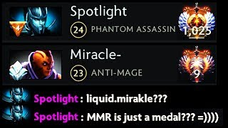 Gambar cover MMR is Just a Medal - PA God Teach Miracle How to Play Dota 2 [Phantom Assassin] Epic Ranked