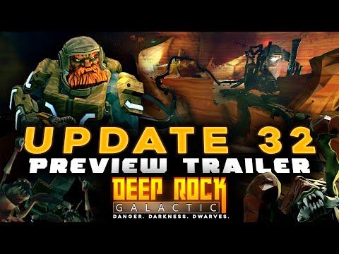 Deep rock galactic update 32 teaser