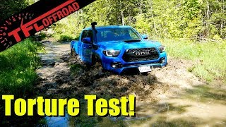 Taking the 2019 Toyota Tacoma TRD Pro Into Nasty Mud!