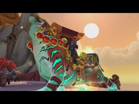 The Story of Ban-lu, Grandmaster'S Companion - Patch 7.2 Monk Class Mount