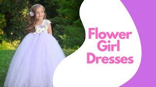 Top 5 Best Flower Girl Tutu Dresses 2020 ! Baby Girl Party Dresses