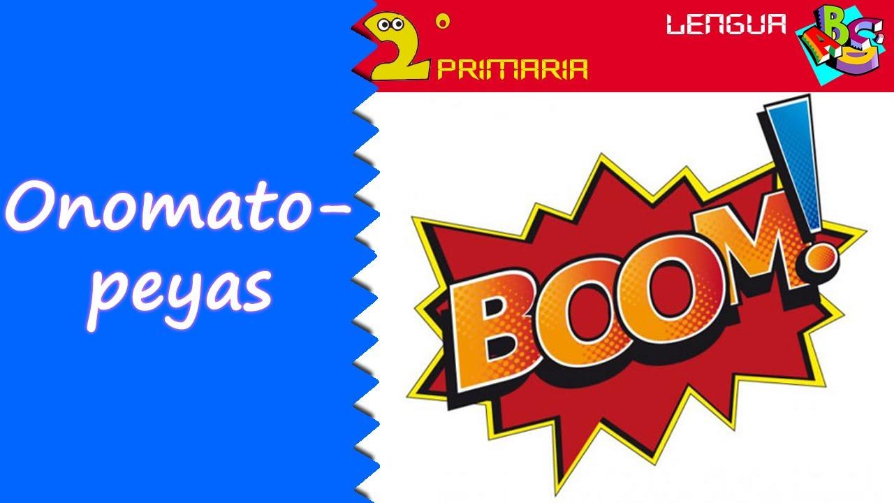 Lengua Castellana. 2º Primaria. Tema 8. Las onomatopeyas