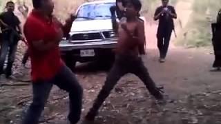 Sicarios se divierten antes de ejecutar a hombre en Guerrero