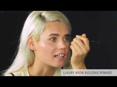 Antakių pomada Arches & Halos Brow Building Pomade - Dark Brown kaina ir informacija | Antakių dažai, pieštukai | pigu.lt