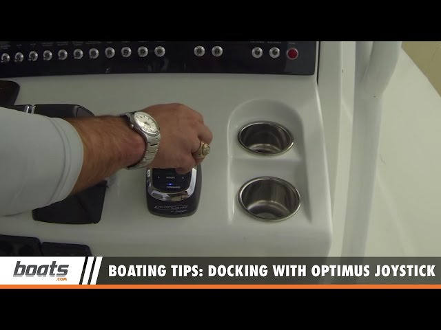 Boating Tips: Docking with Optimus Joystick Control