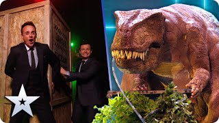 Dario the Dinosaur takes us back to the JURRASIC age for a DISCO PARTY! | Semi-Finals | BGT 2020