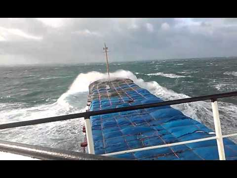 Шторм 8 баллов, Северное море