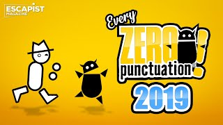 Every 2019 Zero Punctuation with No Punctuation