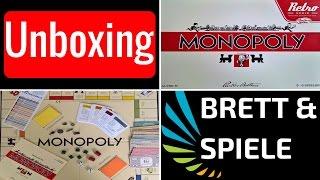 Monopoly Retro 1935 - Brettspiel / Unboxing / Deutsch