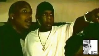 Jay-Z Stops Beanie Sigel Getting In A Fight At A Club - 2000
