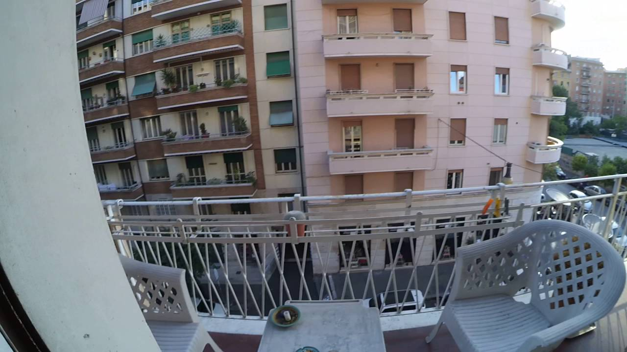 Beds for rent in 2-bedroom apartment with balcony in Trieste and Nomentano
