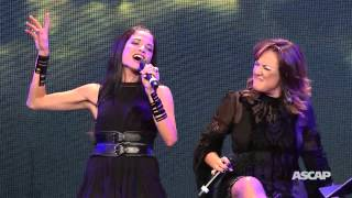 "Natalia Jimenez & Claudia Brant - ""Creo en Mi"" (Live at El Premio ASCAP 2015)"