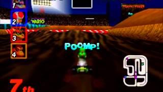 "Myles ~ Mario Kart 64 - Wario Stadium 150CC N1lap 01'04""53"
