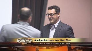 Admirals introduce new head coach