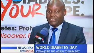WORLD DIABETES DAY:  500,000 Kenyans living with diabetes