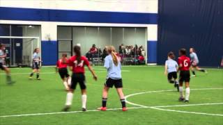 Joga Bonito SC U13 Girls Select vs. OBSC U14 Blue 02-02-2014