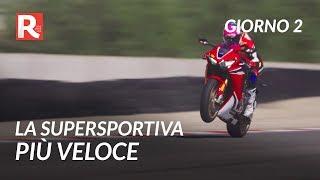 La supersportiva più veloce - Comparativa moto 1000