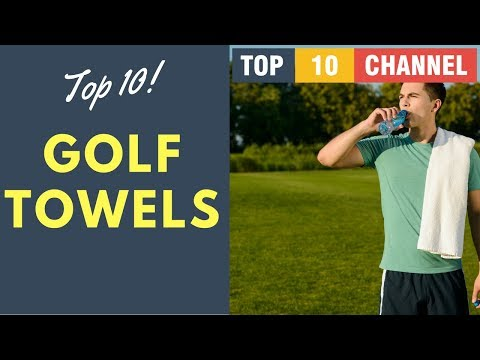 Top 10 Best Golf Towel 2017 - 2018 Reviews || Golf Equipment