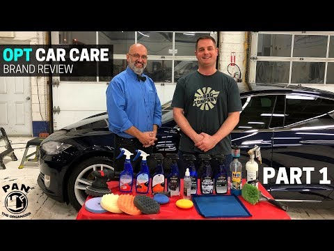 OPTIMUM Car Care Products: Brand Review ft. Yvan Lacroix!  (PART 1)