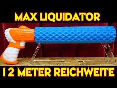 MAX LIQUIDATOR HYDRO BLASTER WASSERKANONE - 12 Meter Reichweite !