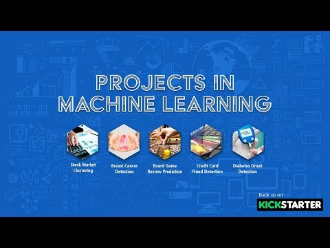 Projects In Machine Learning | Kickstarter | Upcoming Course | Eduonix