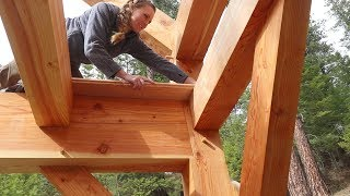 Download Youtube: READY FOR FLOORING! (Dado Joinery in Timber Frame House)