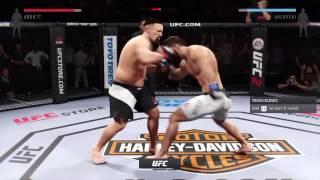 EA UFC 2 Tank Abbott vs Andre Arlovski 2